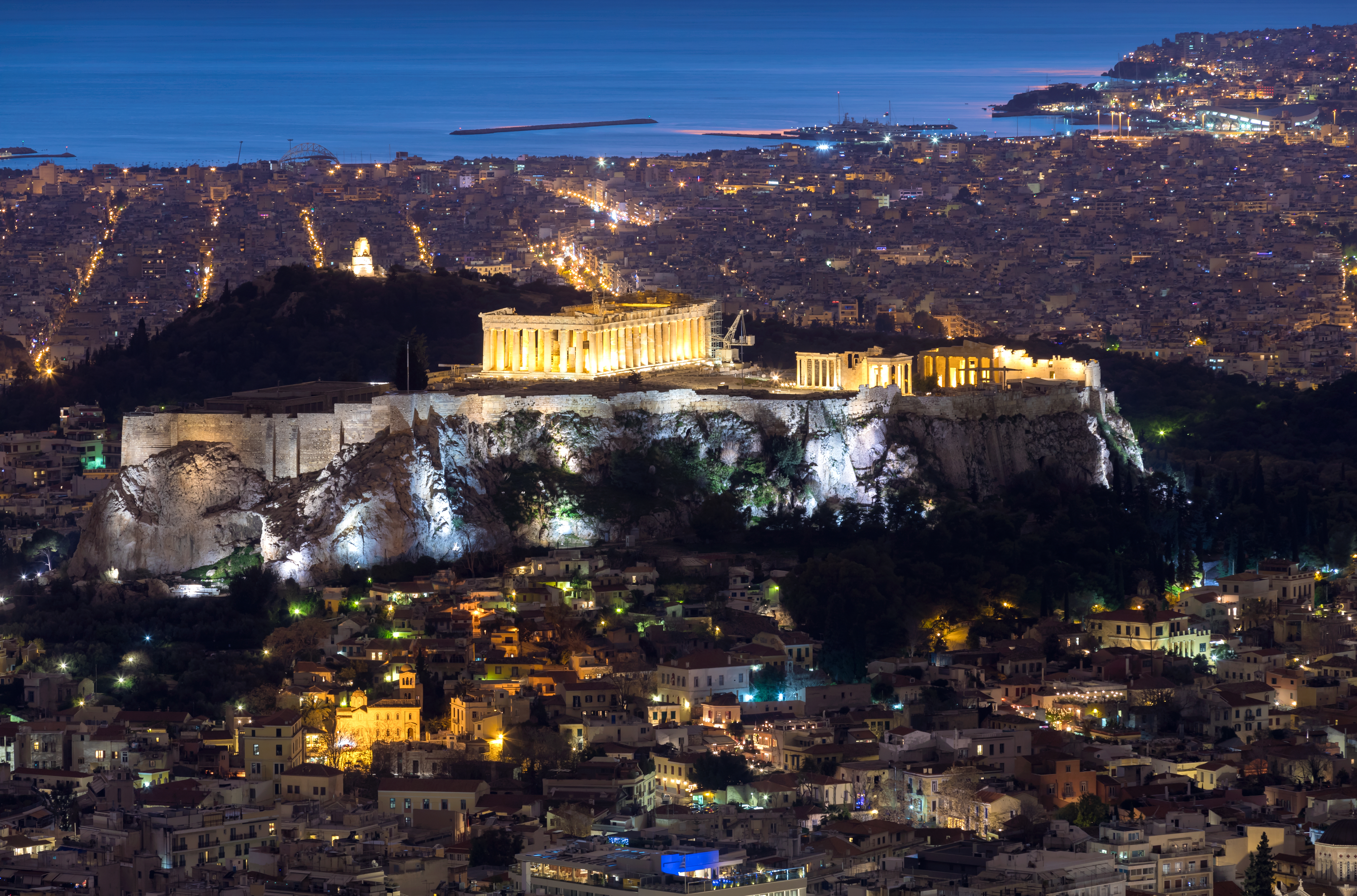 Athens - A Yacht Charter Greece sailing destination
