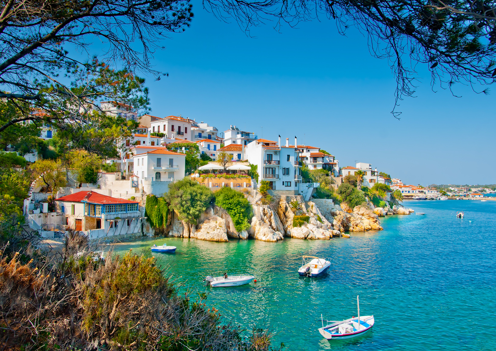 Sail around Skiathos
