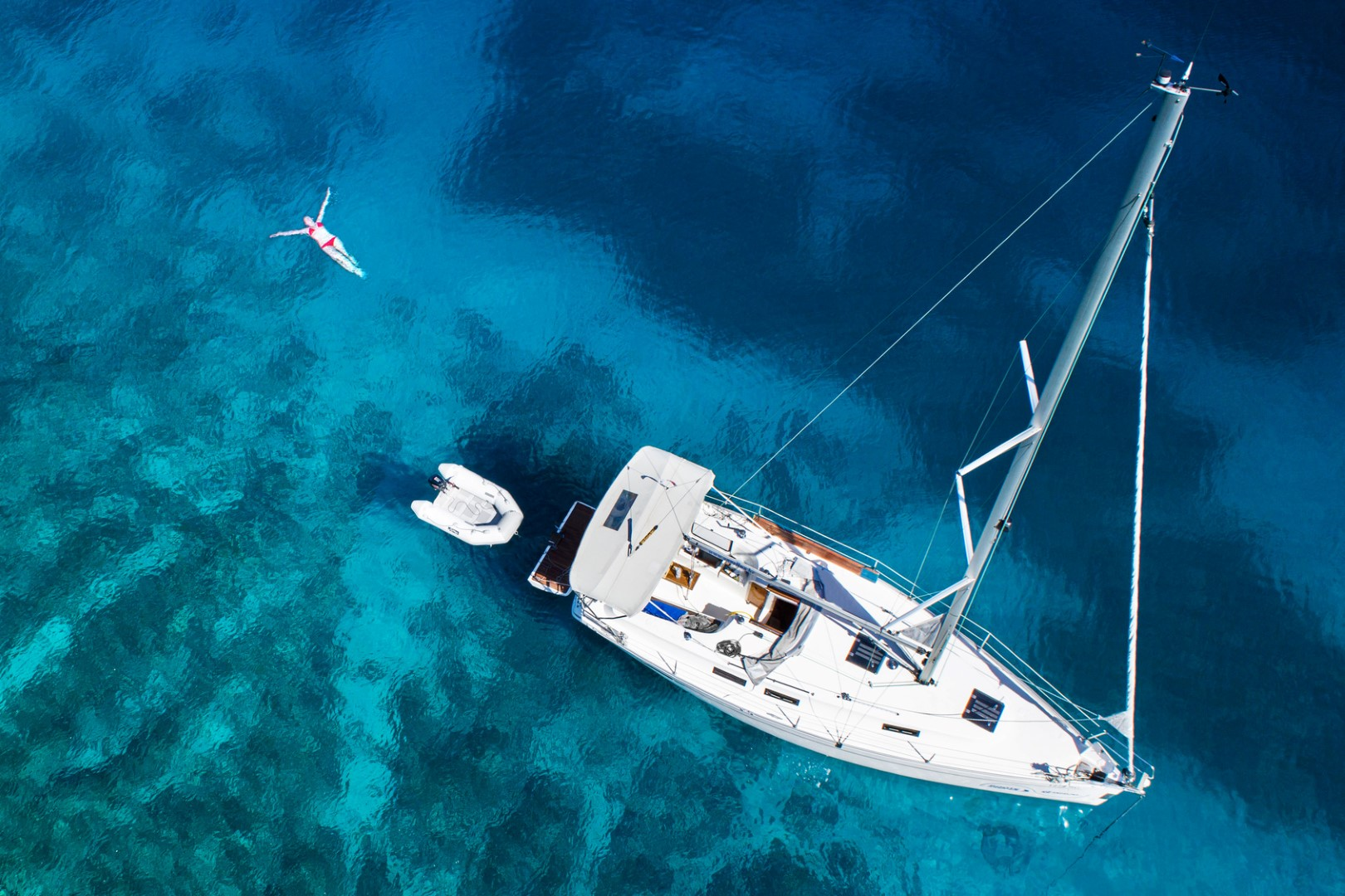 Why Charter a Bareboat Sailboat